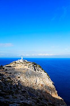 Cap Formentor lighthouse, Majorca, Balearic Islands, Spain, Mediterranean, Europe