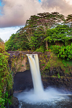 Rainbow Falls, Big Island, Hawaii, United States of America, North America