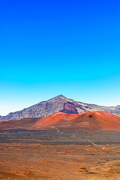 Haleakala National Park, volcanic landscape, Maui Island, Hawaii, United States of America, North America