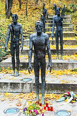 Monument to Victims of Communism between 1948 to 1989 (2002, Olbram Zoubek), Petrin Park, Mala Strana suburb, Prague, Czech Republic, Europe