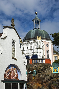 Portmeirion, Gwynedd, Wales, United Kingdom, Europe