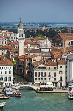 Chiesa San Giorgio dei Greci, 1548, view from Chiesa San Giorgio, UNESCO World Heritage Site, Venice, Veneto, Italy, Europe