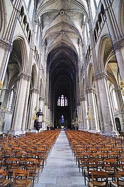 Cathedrale Notre-Dame, Reims, UNESCO World Heritage Site, Champagne, France, Europe