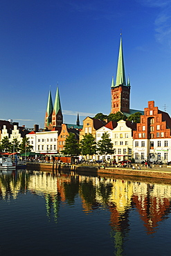 Old Town of Lubeck, Schleswig-Holstein, Germany, Europe