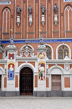 House of the Blackheads, Ratslaukums (Town Hall Square), Riga, Latvia, Baltic States, Europe