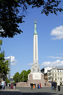 Freedom Monument, Riga, Latvia, Baltic States, Europe