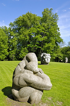 Sculpture Folklore Park, Turaida Museum Reserve, near Sigulda, Latvia, Baltic States, Europe