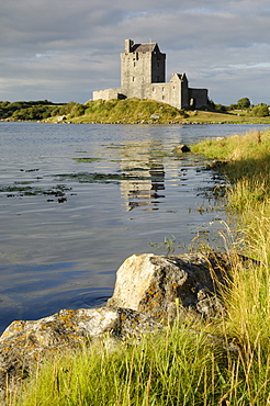 Dunguaire (Dungory) Castle, Kinvarra, County Galway, Connacht, Republic of Ireland, Europe