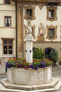 Market Platz, Berchtesgaden, Bavaria, Germany, Europe