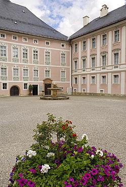 Schloss Platz, Berchtesgaden, Bavaria, Germany