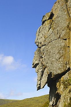 The Grey Man of Merrick, Galloway Hills, Dumfries and Galloway, Scotland, United Kingdom, Europe