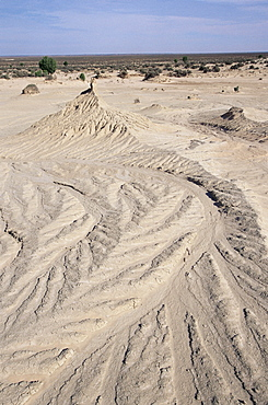 Weathered ground, Mungo National Park, New South Wales, Australia, Pacific