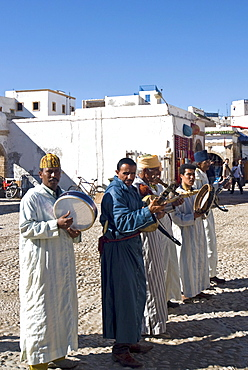 Musicians, Essaouira, Morocco, North Africa, Africa