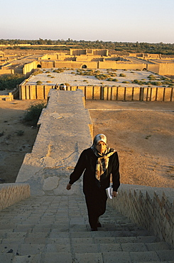 Ruins of the temples, Agargouf, Iraq, Middle East