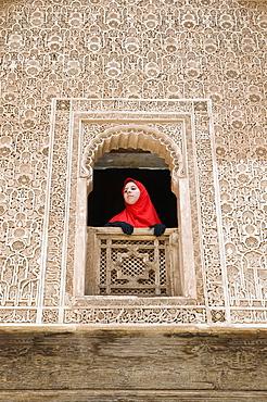 Ben Youssef Medersa (Koranic School), Marrakech, Morocco, North Africa, Africa