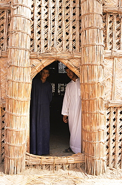 House of reeds, Warka, Iraq, Middle East