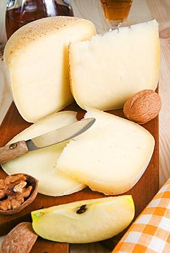 Pecorino cheese, Tuscan gastronomy, Tuscany, Italy, Europe