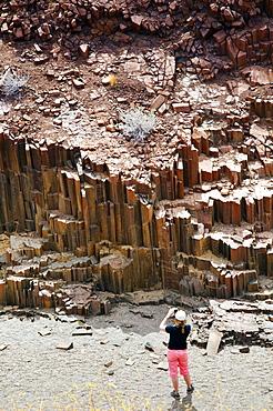 Valley of the Organ Pipes, Damaraland, Kunene Region, Namibia, Africa