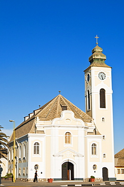 Lutheran Church, Swakopmund, Erongo Region, Namibia, Africa