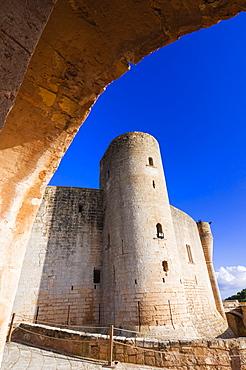Bellver Castle, 14th century, Palma de Mallorca, Majorca, Balearic Islands, Spain, Europe