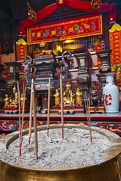 Sin Sze Si Ya Temple (Taoist temple), Kuala Lumpur, Malaysia, Southeast Asia, Asia