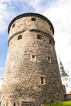 Kiek in de Kok tower, UNESCO World Heritage Site, Tallinn, Estonia, Baltic States, Europe