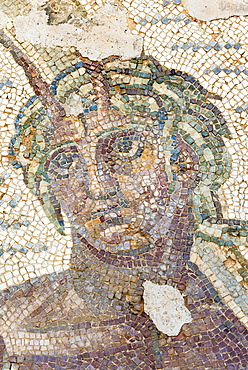 Roman mosaic, Carthage National Museum, Byrsa Hill, Carthage, UNESCO World Heritage Site, Tunis, Tunisia, North Africa, Africa