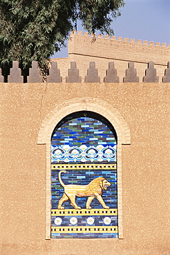 Lion, Babylon, Iraq, Middle East