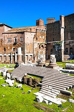 The Forum of Augustus, UNESCO World Heritage Site, Rome, Lazio, Italy, Europe