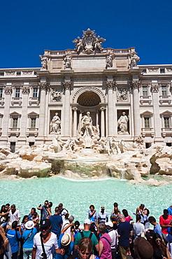 Trevi Fountain, UNESCO World Heritage Site, Rome, Lazio, Italy, Europe