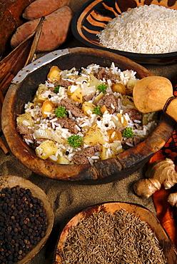 Pilau, Kenyan food, Kenya, East Africa, Africa