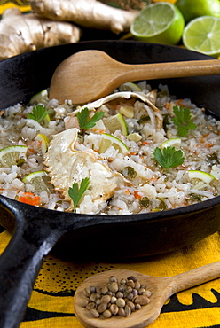 Madagascar food, Malagasy Crab with lime and ginger, Madagascar, Africa