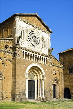 San Pietro church, Tuscania, Viterbo, Latium, Lazio, Italy, Europe