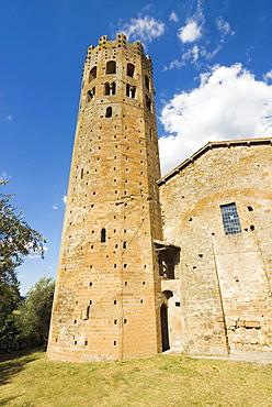 Abbey of Saints Severo and Martiryo, La Badia, Orvieto, Umbria, Italy, Europe