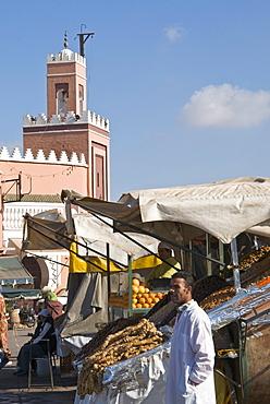 Place Jemaa el Fna (Djemaa el Fna), Marrakesh (Marrakech), Morocco, North Africa, Africa