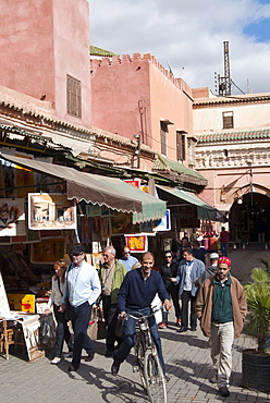 The Souk in the Medina, Marrakech (Marrakesh), Morocco, North Africa, Africa