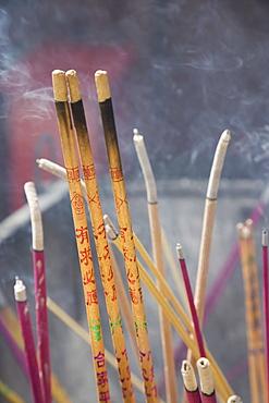 Incense sticks, Lama Temple, Beijing, China, Asia