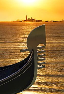 Gondola, Venice, UNESCO World Heritage Site, Veneto, Italy, Europe