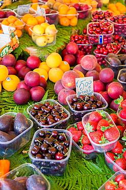 Fruit for sale in Mercato di Campo de Fiori, Rome, Lazio, Italy, Europe