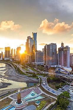 City skyline, Panama City, Panama, Central America