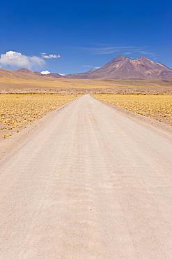 The peak of Cerro Miniques at 5910m, Los Flamencos National Reserve, Atacama Desert, Antofagasta Region, Norte Grande, Chile, South America