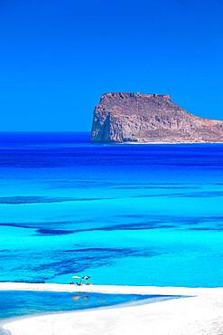 Balos beach , crete island, Greece