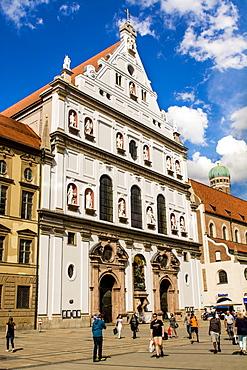 Building architecture, Munich, Bavaria, Germany, Europe