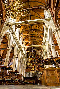 Oude Kerk church, oldest in Amsterdam, North Holland, Netherlands, Europe