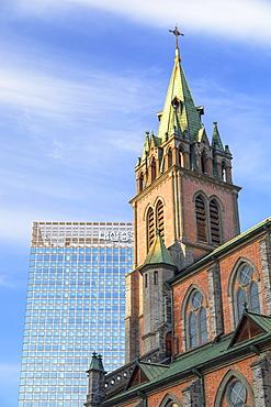 Myeongdong Cathedral, Seoul, South Korea, Asia