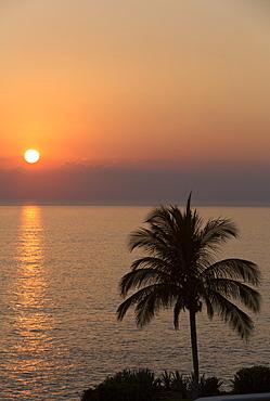 Sunset, Puerto Escondido, Oaxaca, Mexico, North America