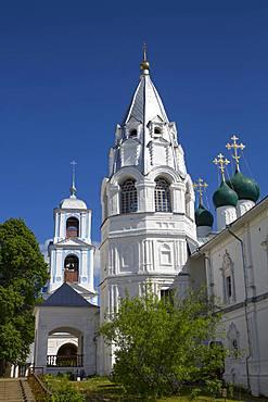 Bell Tower of Annunciation Church, Nikitsky Monastery, Pereslavl-Zalessky, Golden Ring, Yaroslavl Oblast, Russia, Europe