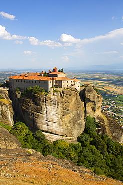 Holy Monastery of St. Stephen, Meteora, UNESCO World Heritage Site, Thessaly, Greece, Europe