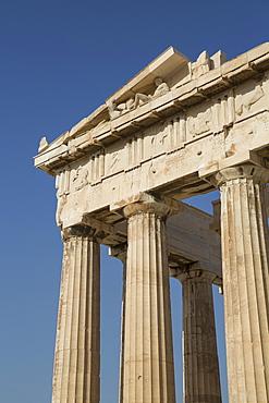 Relief, Parthenon, Acropolis, UNESCO World Heritage Site, Athens, Greece, Europe