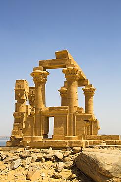 Chapel of Qartasa, Kalabsha, UNESCO World Heritage Site, near Aswan, Nubia, Egypt, North Africa, Africa